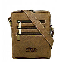 Мужская стильная сумка из буйволиной кожи Always Wild код 250, фото 1