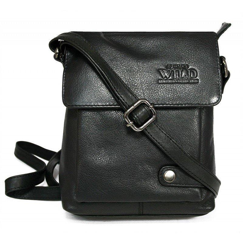Мужская сумка  ALWAYS WILD (Польша) из натуральной кожи код 102