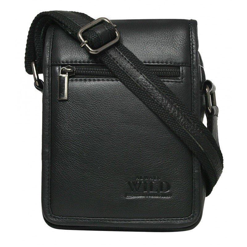 Мужская сумка через плечо бренд Always Wild (Польша) код 504. Натуральная кожа!
