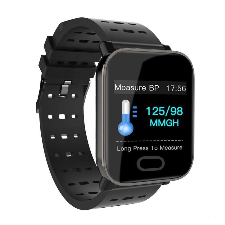 Смарт годинник Bakeey A6 IPS 1.3 екран, багато функцій + 2 місяця без підзарядки!