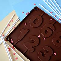 """Форма  леденцов и шоколада """"Цифры"""", фото 1"""