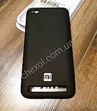 Soft-touch Silicone Cover для Xiaomi Redmi Note 5A Prime Черный