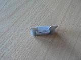 Предохранитель большой 25А 32V плоский штыревой 29х34мм Tesla Тесла серый корпус полупрозрачный 25а 32в, фото 2