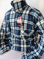 Клетчатые мужские рубашки с подкладкой