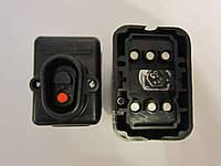 Кнопка пусковая 380В 10А черная