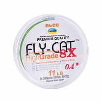 Шнуры плетеные NTEC FlyCat X8 Oliva Green
