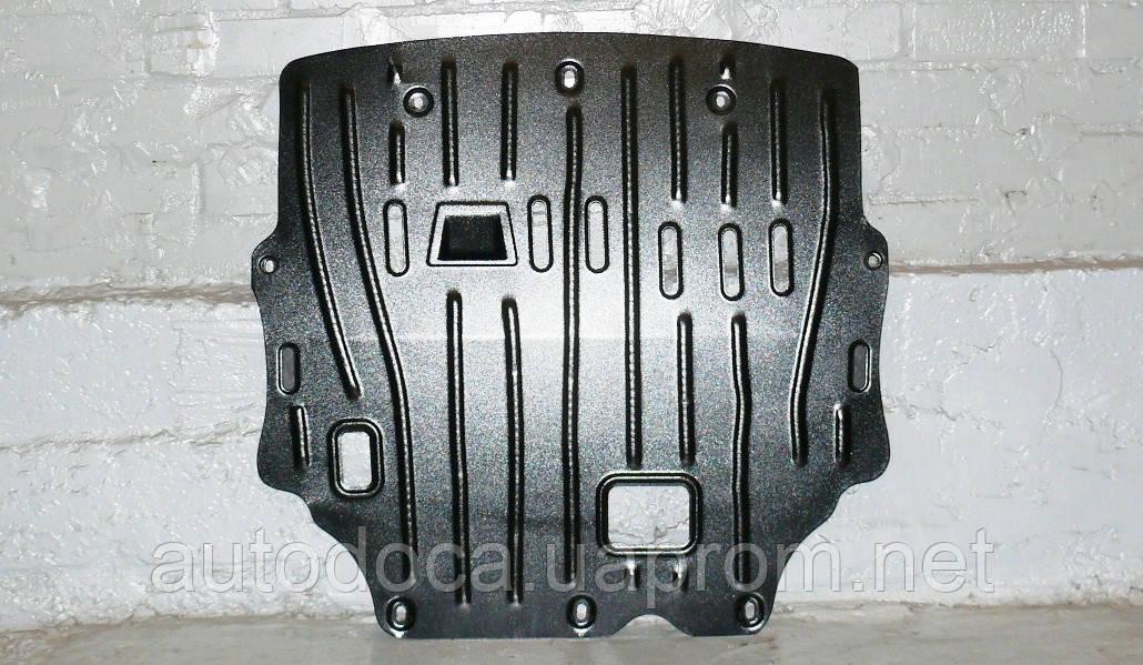 Защита картера двигателя и кпп Mitsubishi Outlander  2012-