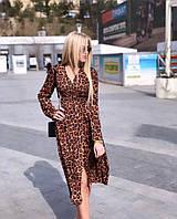 Платье запах женское , фото 1