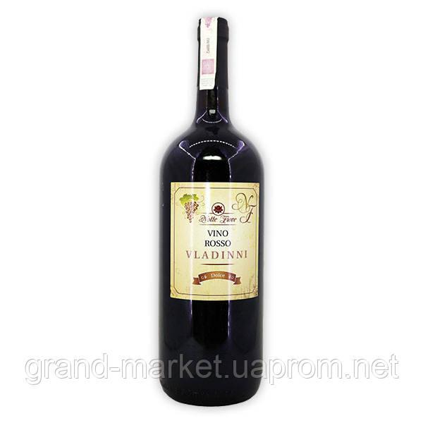 Вино Serenissima Vladinni Rosso Dolce, 1.5 l