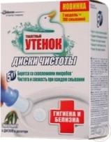 Диски чистоты Туалетный утенок Эвкалипт 6шт