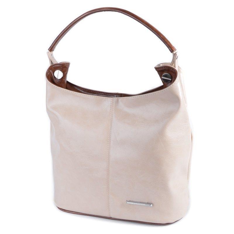 fd3cf5836d4a Молочная сумка М129-26/22 мешок женская мягкий мешок с коричневой ручкой -  Интернет