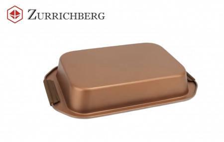 Деко для випічки кераміка Zurrichberg ZBP 7115 Розмір форми 37х25х6 см жаровня, фото 2