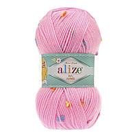 Пряжа Alize Baby Flower 5382 (Ализе Беби Фловер)