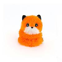 Мягкая игрушка POMSIE POOS S1 – ЛИСИЧКА ФОКСИ (на клипсе) (02064-F)