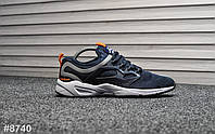 Мужские кроссовки Reebok Fury Blue Orange, фото 1