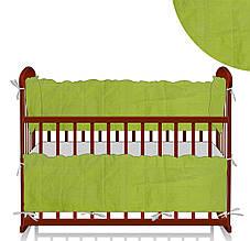 Защита в кроватку - цвет салатовый, ТМ Алекс