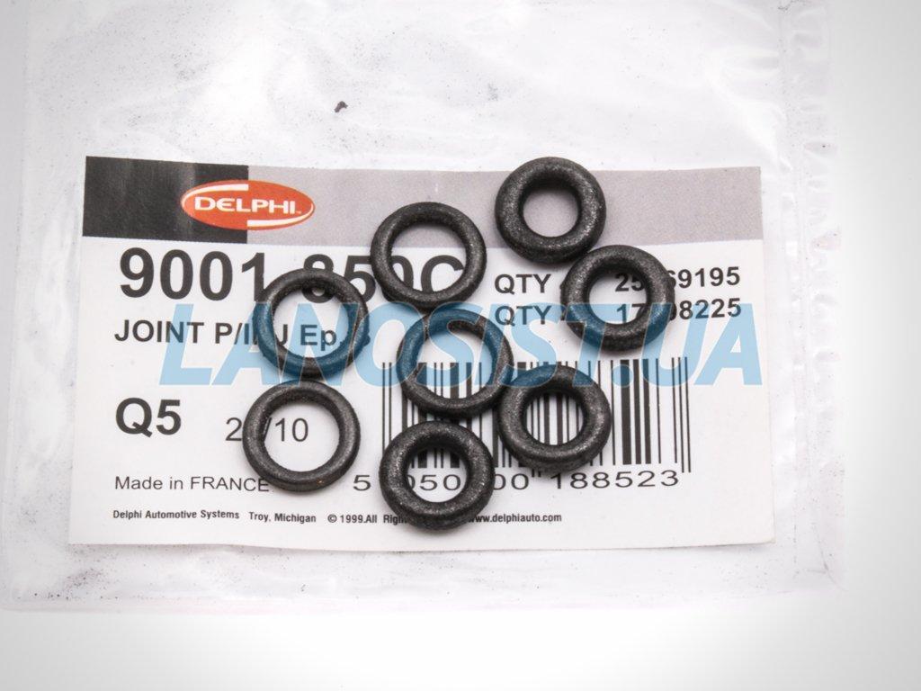Кольца форсунок тонких в комплекте Ланос Авео Delphi 17106005+25169195.