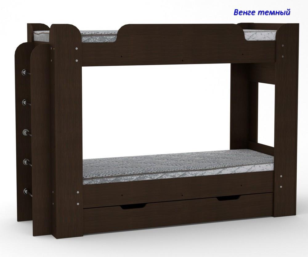 Двухъярусная кровать Твикс-1
