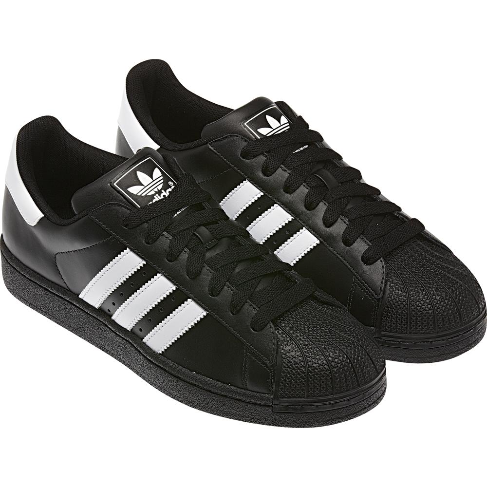 Мужские кроссовки Adidas Superstar черные