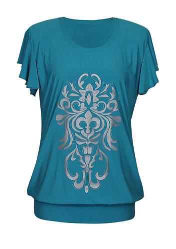 Длинная футболка-туника Анжелика