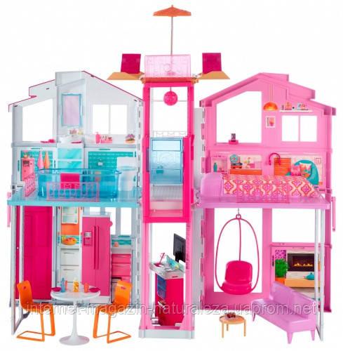 Кукольный домик Mattel Barbie Городской дом Малибу