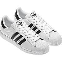 Женские кроссовки Adidas Superstar белые, фото 1