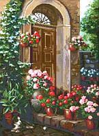 Набор для вышивки крестиком Летние цветы 27 х 375 см Dantel