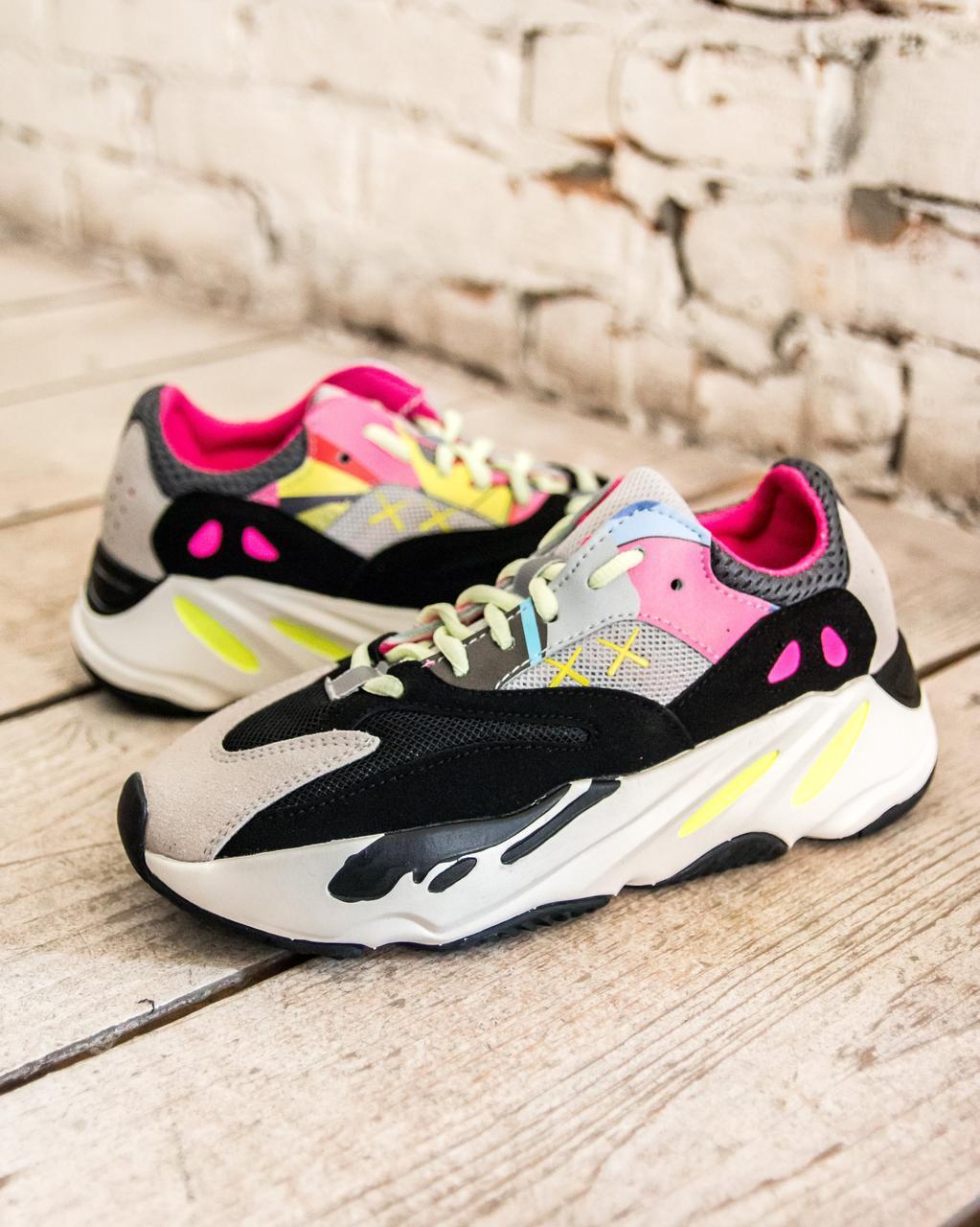 "ea7cacd4 Кроссовки Adidas Yeezy Boost 700 ""Wave Runners"" (адидас иззи буст цветные) -"