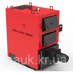 Котел твердопаливний 25 кВт РЕТРА-4МCombi з факельним пальником