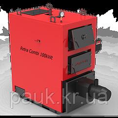 Котел твердопаливний 40 кВт РЕТРА-4МCombi, режим завантаження - факельний пальник