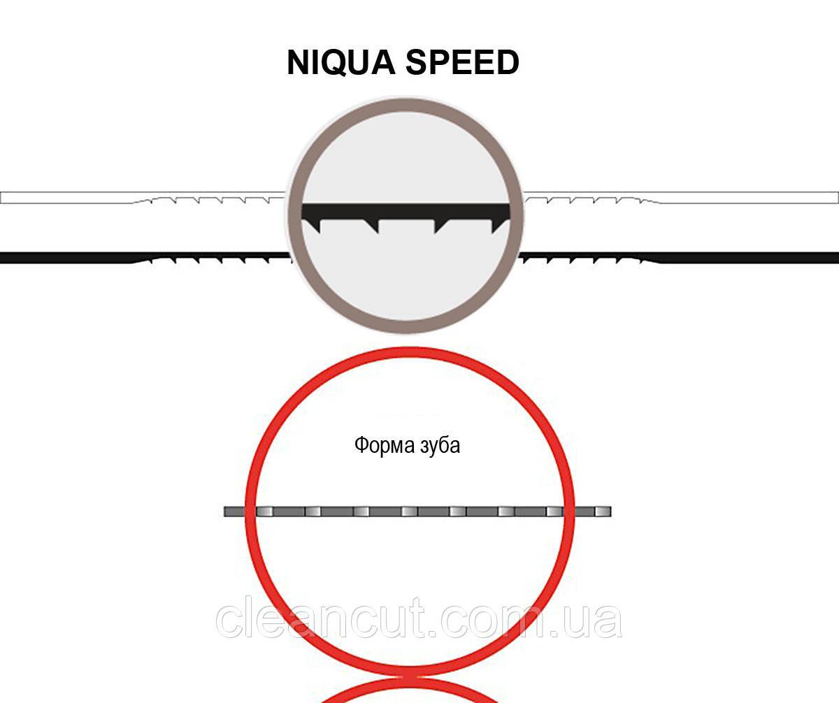 Пилка для лобзикових верстатів NIQUA SPEED №1,, комплект 6 шт