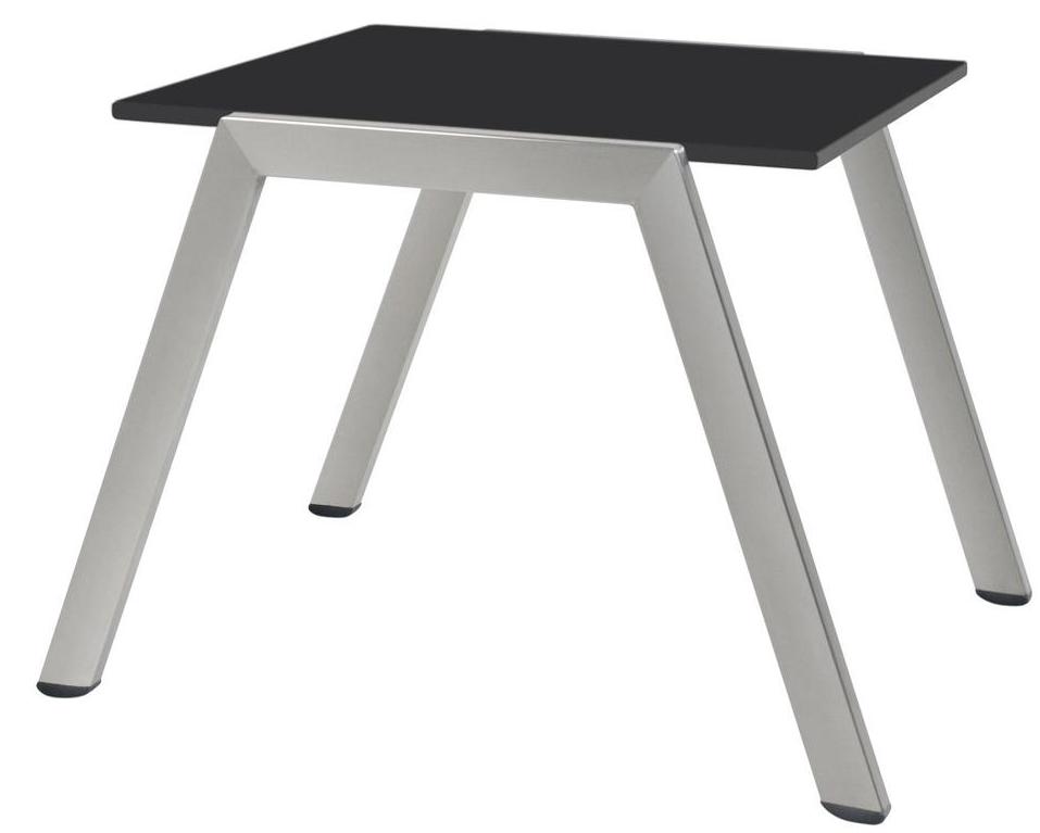 """Дизайнерский столик к шезлонгу Zen Side Table Black ТМ """"Papatya"""""""