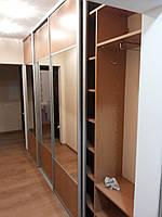Большой шкаф-купе с зеркалом, фото 1