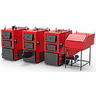 Твердотопливный котел 80 кВт РЕТРА-4МCombi, котел промышленный с факельной горелкой, фото 8