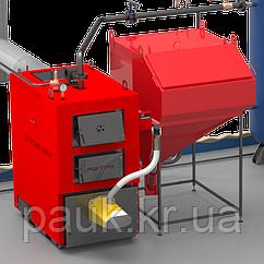 Твердопаливний котел 80 кВт РЕТРА-4МCombi, котел промисловий з факельним пальником