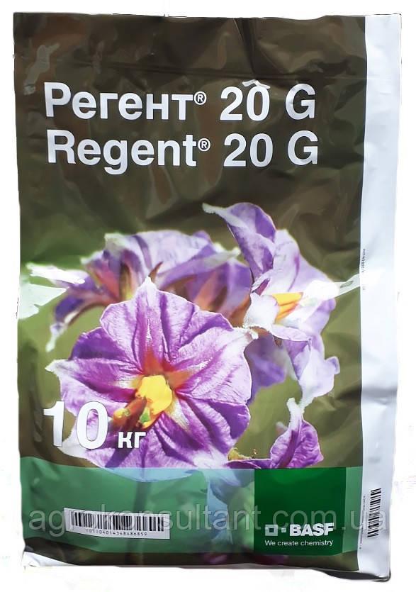 Регент 20G, 10кг — почвенный инсектицид от грунтовых вредителей (медведка, дротянка)
