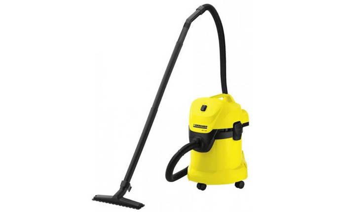 Профессиональный пылесос Karcher WD 3 1000 Вт пылесос для сухой и влажной уборки, фото 2