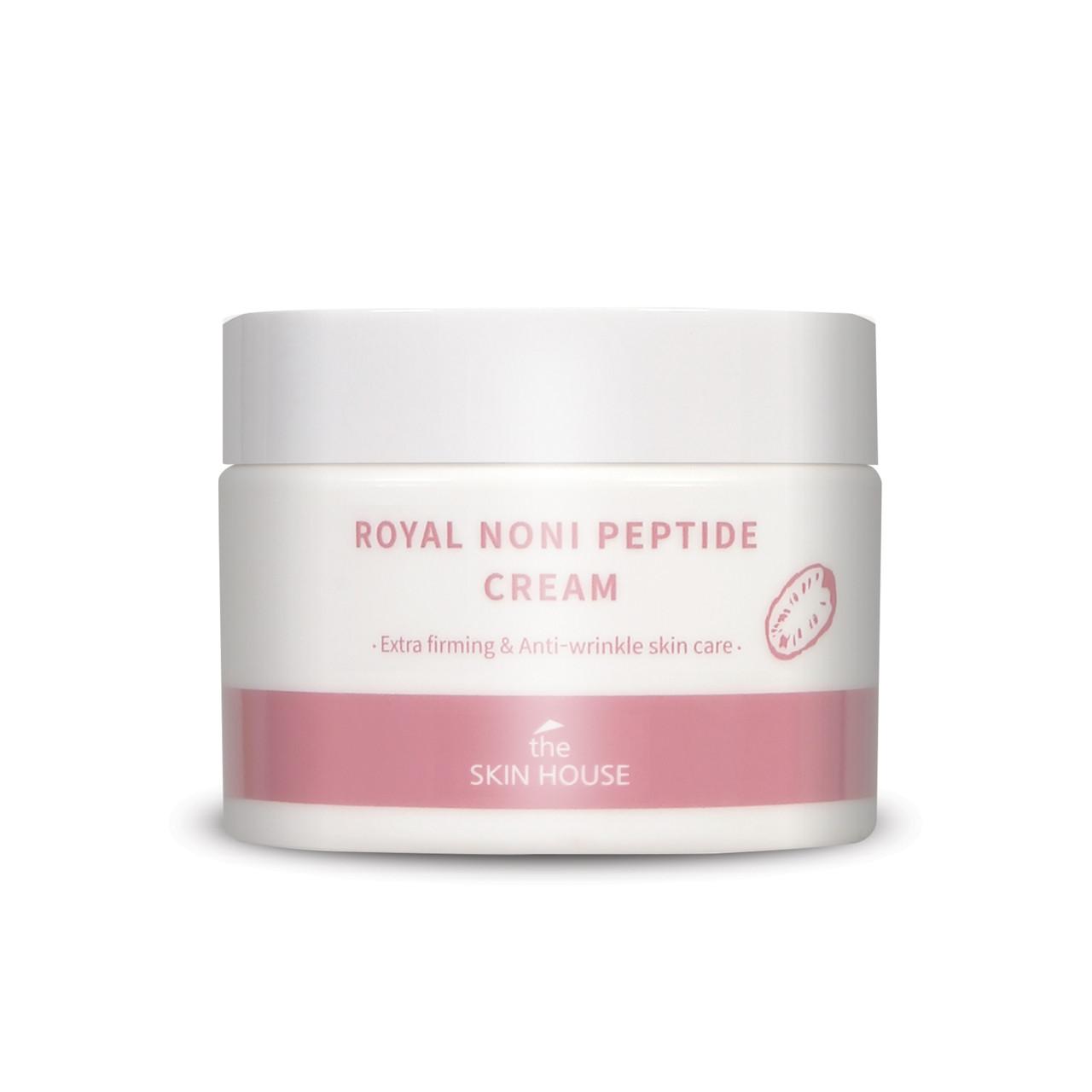 Укрепляющий крем против морщин с пептидами The Skin House Royal Noni Peptide Cream, 50 мл