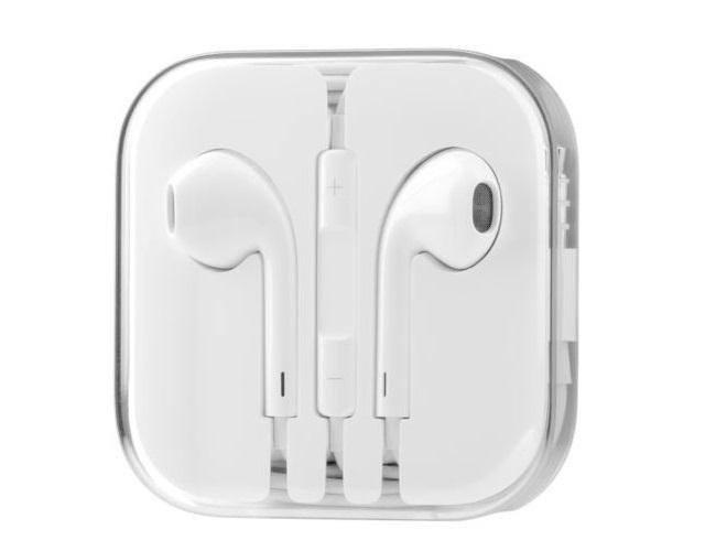 Наушники вкладыши гарнитура Apple EarPods iPhone 5 реплика