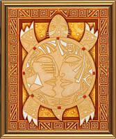Набор для вышивки бисером Символ мудрости и долголетия 30x36 см частичная бисер Nova Sloboda