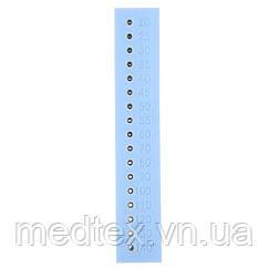 Гуттаперчевые точки. Шкала измерения диапазона. Измерение линейки корневых каналов.