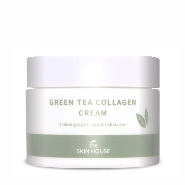 Успокаивающий крем с коллагеном и экстрактом зеленого чая The Skin House Green Tea Collagen Cream, 50 мл