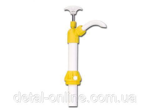 Помпа полипропиленовая бочковая для химических  веществ, производительность 400 мл/ход, для бочек 50-200л