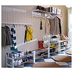 IKEA TJUSIG Скамья для обуви, белый  (301.526.38), фото 3