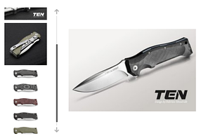 Нож Viper TEN
