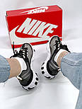 Мужские кроссовки Nike React Element 87 x Undercover Gray Black White. Живое фото. Топ реплика ААА+, фото 8