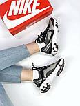 Мужские кроссовки Nike React Element 87 x Undercover Gray Black White. Живое фото. Топ реплика ААА+, фото 6