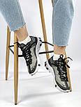Мужские кроссовки Nike React Element 87 x Undercover Gray Black White. Живое фото. Топ реплика ААА+, фото 9