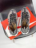 Мужские кроссовки Nike React Element 87 x Undercover Gray Black White. Живое фото. Топ реплика ААА+, фото 2