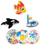 Детские надувные игрушки для плавания